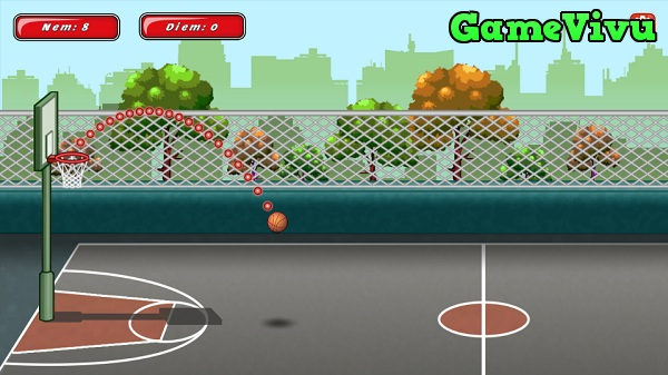 game Ném bóng rổ 3 hình ảnh 1