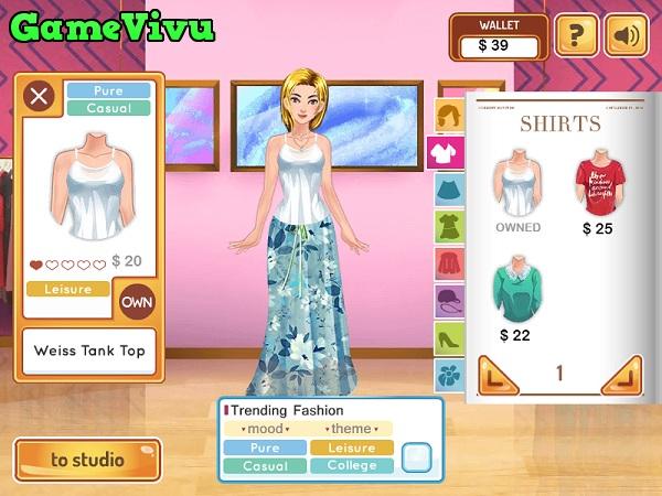 game Nhà thiết kế thời trang hình ảnh 1