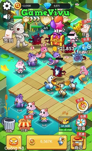 game Pokemon phòng thủ 3 hình ảnh 3