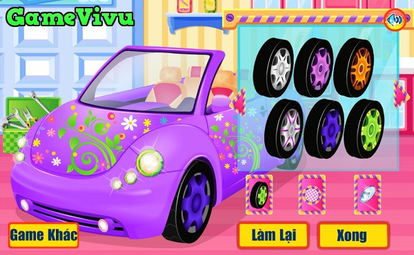 game Sửa chữa xe ô tô