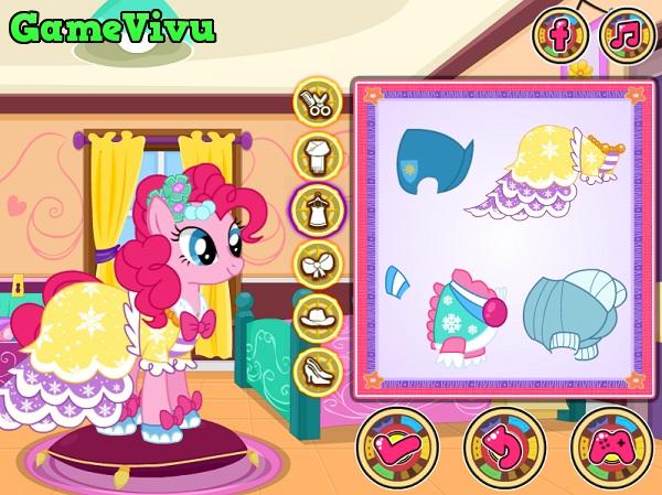 game Thời trang Pony mùa đông hình ảnh 1