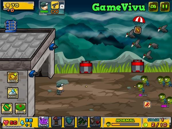 game Bắn zombie 2 người hình ảnh 1