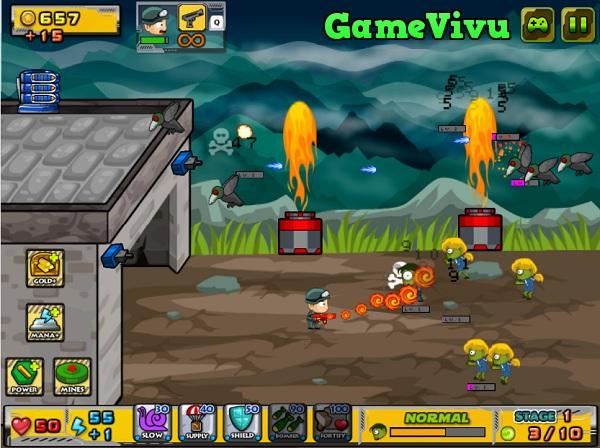 game Bắn zombie 2 người hình ảnh 2