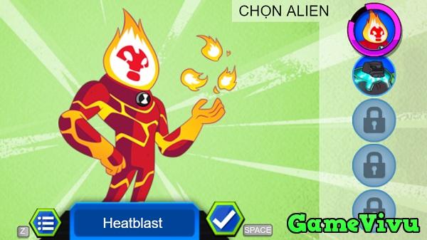 game Ben 10 vs Alien hình ảnh 1