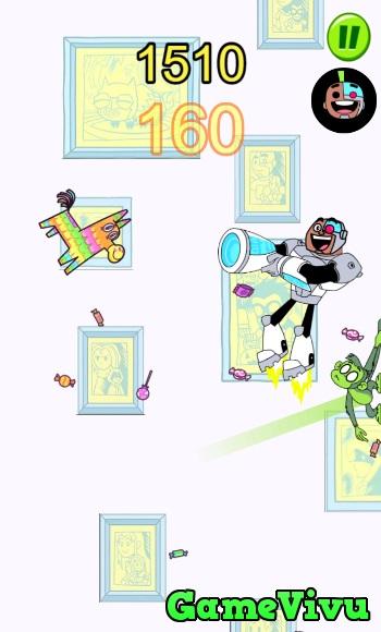 game Biệt đội thiếu niên Titan đập Pinata hình ảnh 3