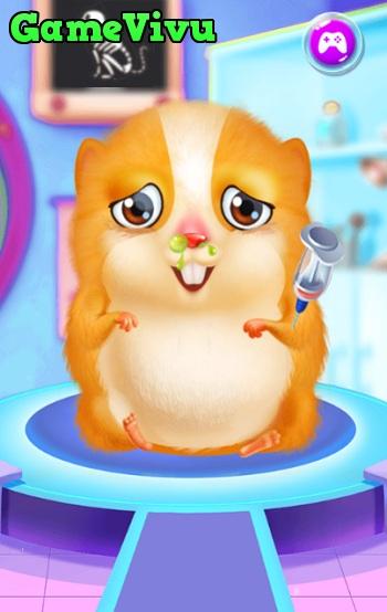 game Chăm sóc hamster hình ảnh 1