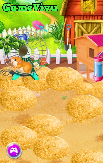 game Chăm sóc hamster hình ảnh 2