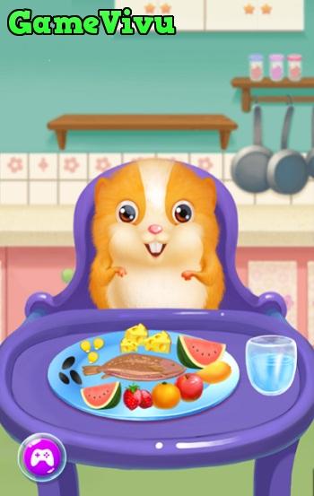 game Chăm sóc hamster hình ảnh 3