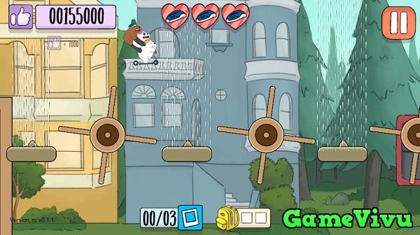 game Chúng tôi đơn giản là gấu lái xe scooter hình ảnh 3