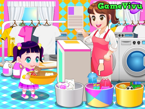game Giặt quần áo hình ảnh 1