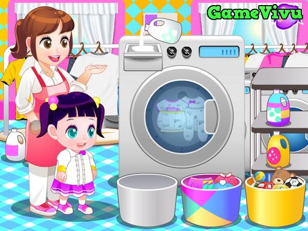 game Giặt quần áo hình ảnh 2