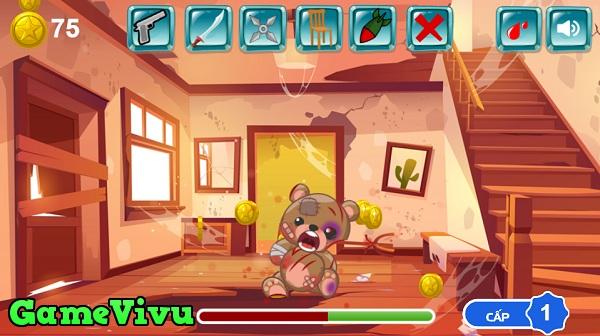 game Hành hạ Teddy hình ảnh 1