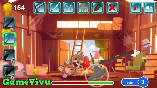 game Hành hạ Teddy hình ảnh 2