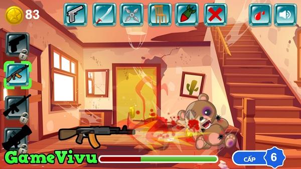 game Hành hạ Teddy hình ảnh 3