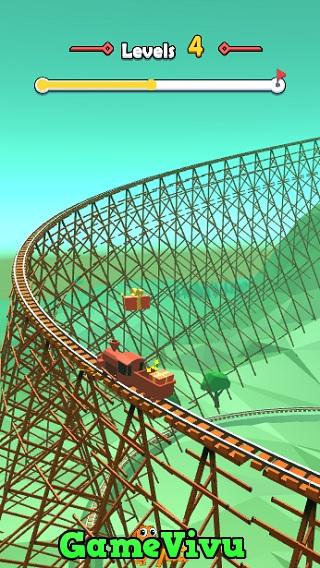 game Lái tàu hỏa 3D hình ảnh 1
