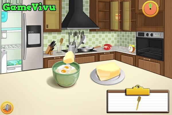 game Làm bánh táo nướng hình ảnh 1