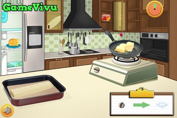 Game Làm bánh táo cuộn hình ảnh 2