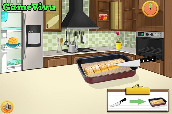 game Làm bánh táo nướng hình ảnh 3