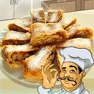 Làm bánh táo cuộn