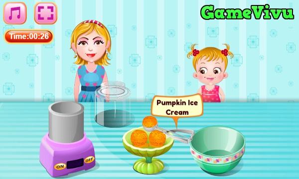 game Làm kem bí ngô hình ảnh 3