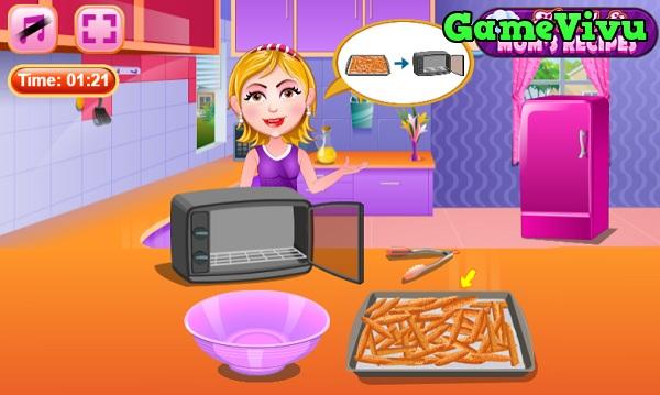 game Làm khoai lang nướng hình ảnh 3