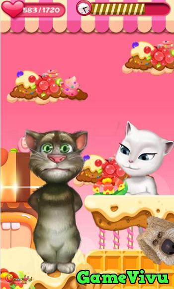 game Mèo Tom kissing hình ảnh 2