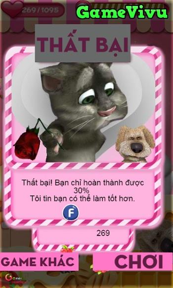 game Mèo Tom kissing hình ảnh 3
