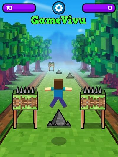 game Minecraft thi chạy hình ảnh 1