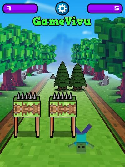 game Minecraft thi chạy hình ảnh 3
