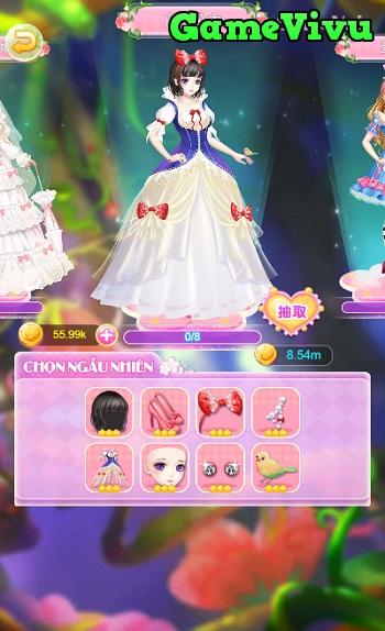 game Thời trang công chúa Trung Quốc nhà Minh Thanh cổ xưa