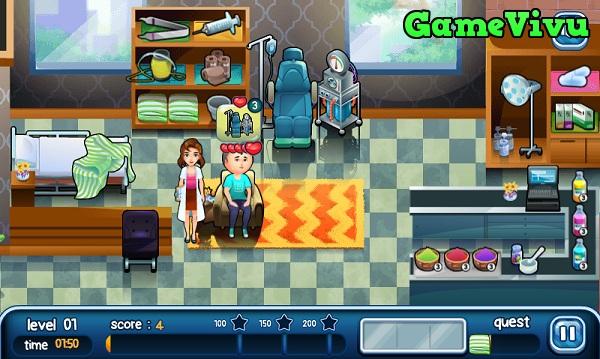 game Bác sĩ khám bệnh hình ảnh 1