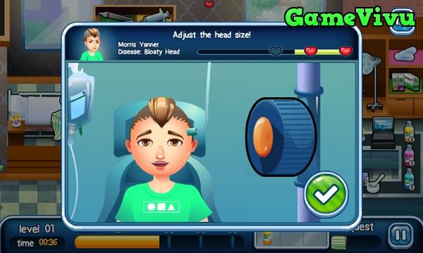 game Bác sĩ khám bệnh hình ảnh 2