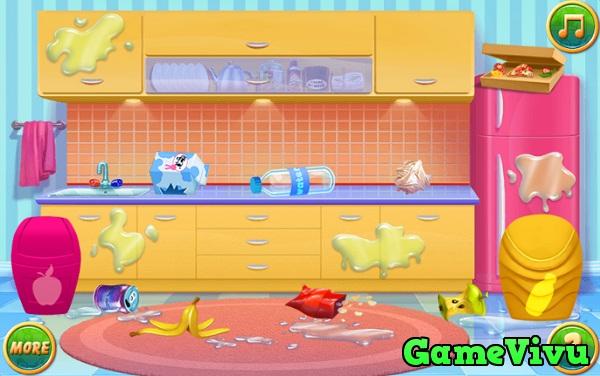 game Bé tập nấu ăn 3 hình ảnh 1