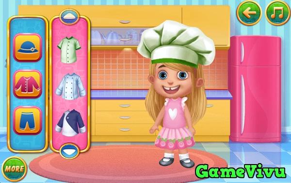 game Bé tập nấu ăn 3 hình ảnh 2