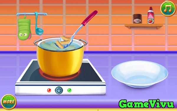 game Bé tập nấu ăn 3 hình ảnh 3