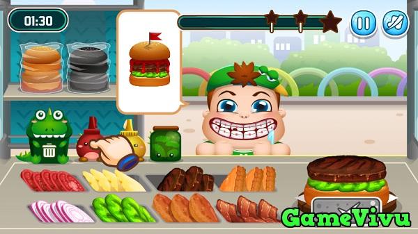 game Burger Siêu tốc hình ảnh 1