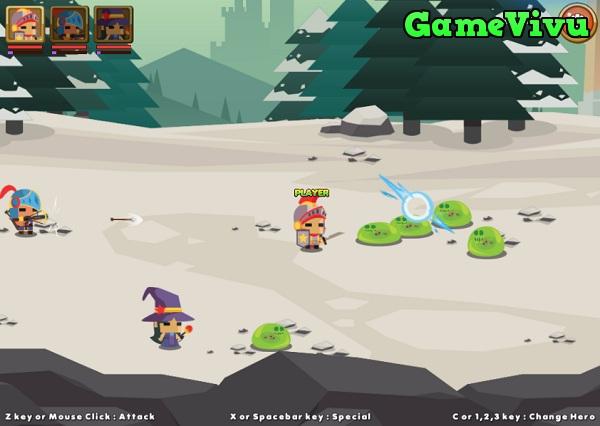 game Chiến binh anh hùng hình ảnh 1