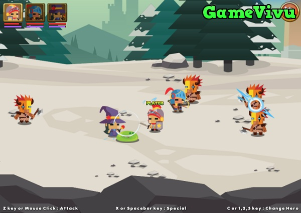game Chiến binh anh hùng hình ảnh 3