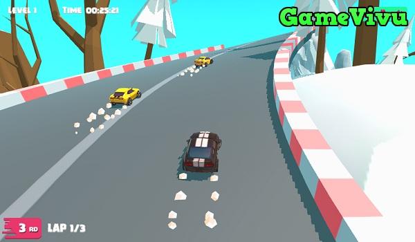 game Đua xe bắc cực hình ảnh 1