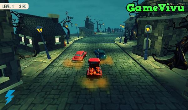 game Đua xe Halloween ma quái hình ảnh 1