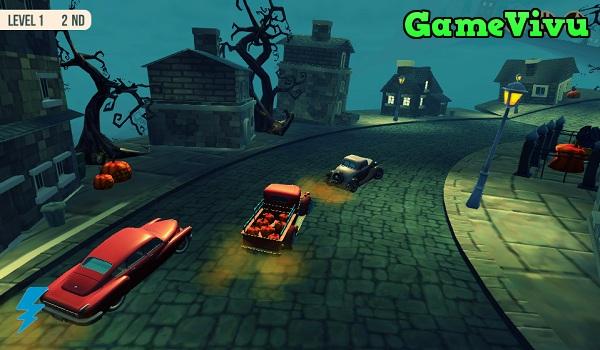 game Đua xe Halloween ma quái hình ảnh 3