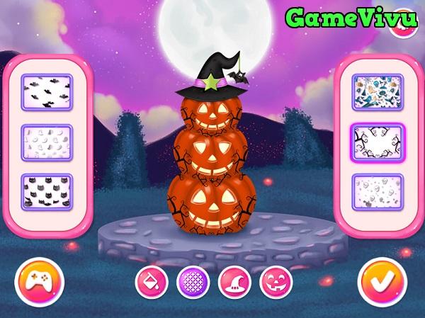 game Halloween của Elsa và Anna hình ảnh 4