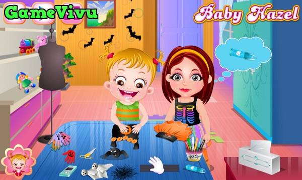 game Làm đồ chơi Halloween hình ảnh 1