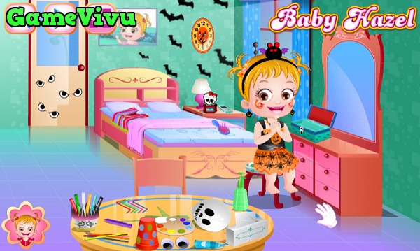 game Làm đồ chơi Halloween hình ảnh 2