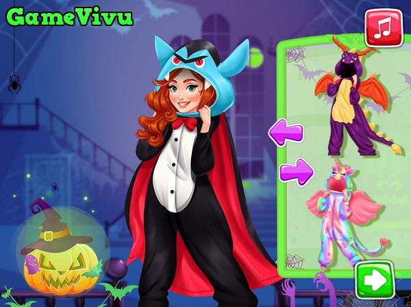 game Thời trang Halloween thú bông hình ảnh 1