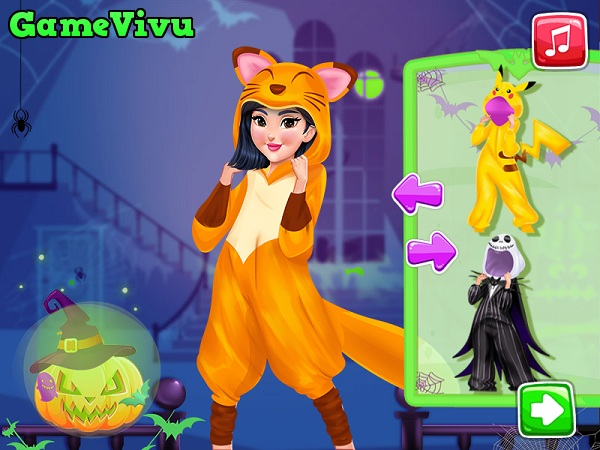 game Thời trang Halloween thú bông hình ảnh 3