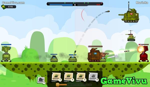 game Trận địa xe tăng 2 hình ảnh 3