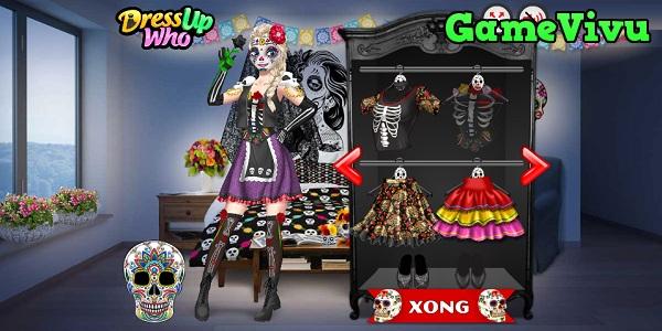 game Trang điểm công chúa Halloween hình ảnh 2
