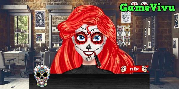 game Trang điểm công chúa Halloween hình ảnh 3