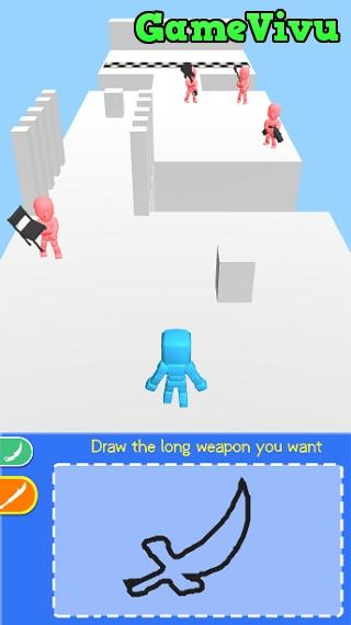 game Vẽ vũ khí chiến đấu hình ảnh 1